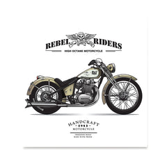 Ezposterprints - The Fast Vintage Chopper