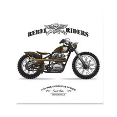 Ezposterprints - The Goodness In Ride Vintage Chopper