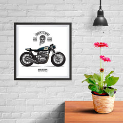 Ezposterprints - Ride Hard 2 Vintage Chopper - 10x10 ambiance display photo sample