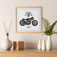 Ezposterprints - Ride Hard 2 Vintage Chopper - 12x12 ambiance display photo sample