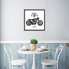 Ezposterprints - Ride Hard 2 Vintage Chopper - 16x16 ambiance display photo sample