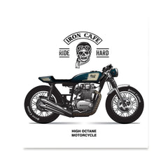 Ezposterprints - Ride Hard 2 Vintage Chopper