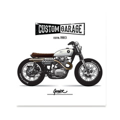 Ezposterprints - Street Custom Vintage Chopper