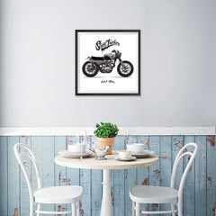 Ezposterprints - Street Tracker 2 Vintage Chopper - 16x16 ambiance display photo sample