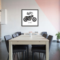 Ezposterprints - Street Tracker 2 Vintage Chopper - 32x32 ambiance display photo sample