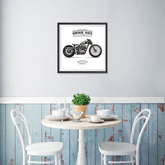 Ezposterprints - The Trouble Vintage Chopper - 16x16 ambiance display photo sample