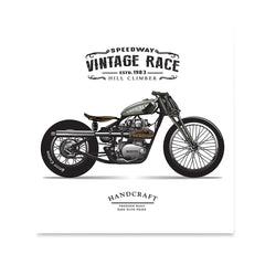 Ezposterprints - The Trouble Vintage Chopper