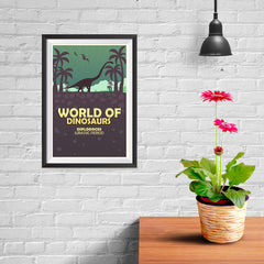 Ezposterprints - Diplodocus | World of Dinosaurs Posters - 08x12 ambiance display photo sample