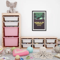 Ezposterprints - Diplodocus | World of Dinosaurs Posters - 16x24 ambiance display photo sample