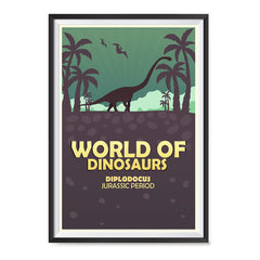 Ezposterprints - Diplodocus | World of Dinosaurs Posters ambiance display photo sample