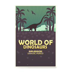 Ezposterprints - Diplodocus | World of Dinosaurs Posters