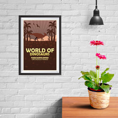 Ezposterprints - Parasaurolophus | World of Dinosaurs Posters - 08x12 ambiance display photo sample