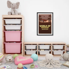 Ezposterprints - Parasaurolophus | World of Dinosaurs Posters - 16x24 ambiance display photo sample