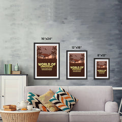 Ezposterprints - Parasaurolophus | World of Dinosaurs Posters ambiance display photo sample