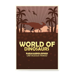 Ezposterprints - Parasaurolophus | World of Dinosaurs Posters