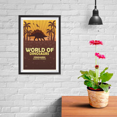 Ezposterprints - Stegosaurus | World of Dinosaurs Posters - 08x12 ambiance display photo sample