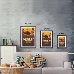 Ezposterprints - Stegosaurus | World of Dinosaurs Posters ambiance display photo sample