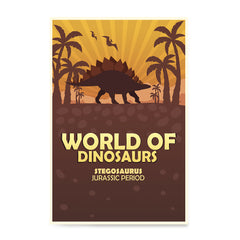 Ezposterprints - Stegosaurus | World of Dinosaurs Posters