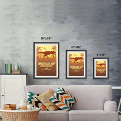 Ezposterprints - T-Rex | World of Dinosaurs Posters ambiance display photo sample