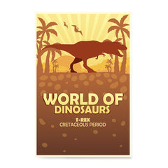 Ezposterprints - T-Rex | World of Dinosaurs Posters