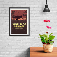 Ezposterprints - Triceratops | World of Dinosaurs Posters - 08x12 ambiance display photo sample