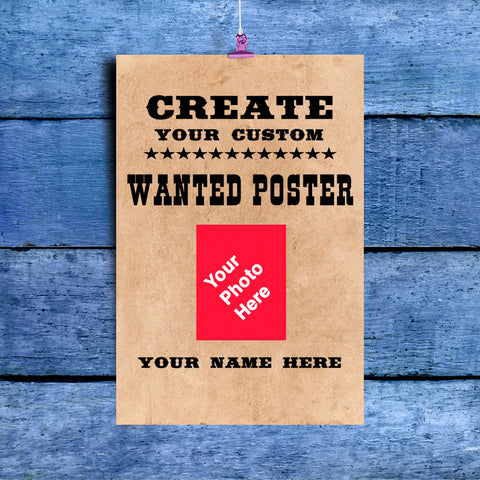 Create Your Wanted Poster
