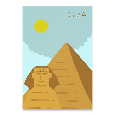 World Cities Retro Posters: Giza