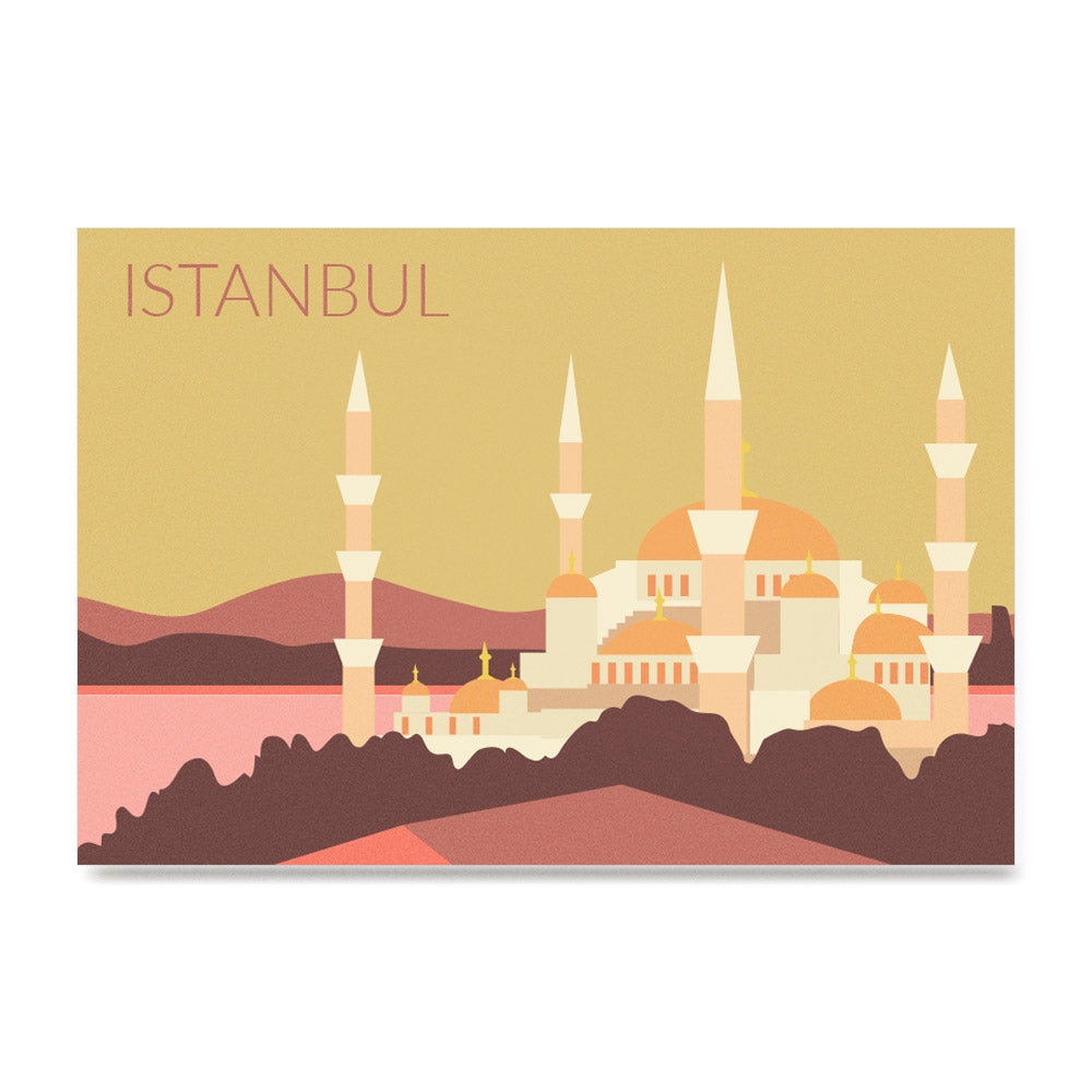 World Cities Retro Posters: Istanbul