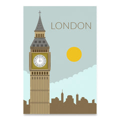World Cities Retro Posters: London