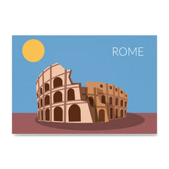 World Cities Retro Posters: Rome