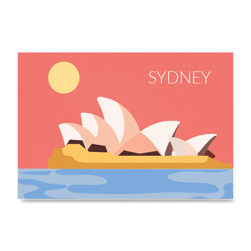 World Cities Retro Posters: Sydney