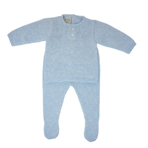 Boys Cotton Babygrow 2 Pieces