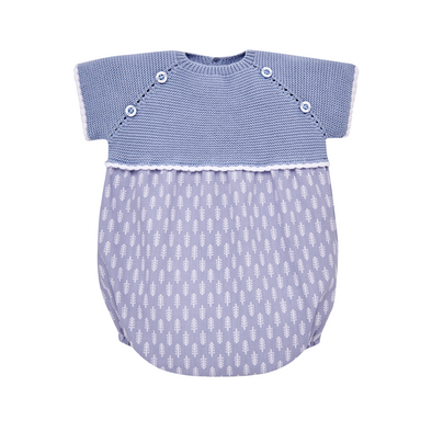 Knit  Newborn Romper