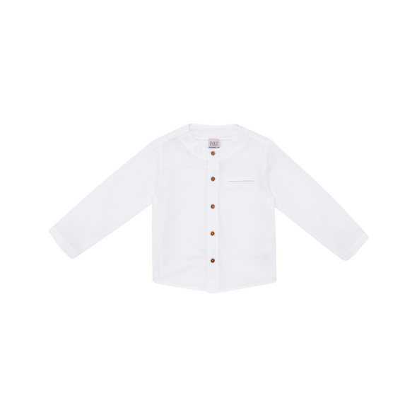 Woven Infant Boy Shirt and Trousers