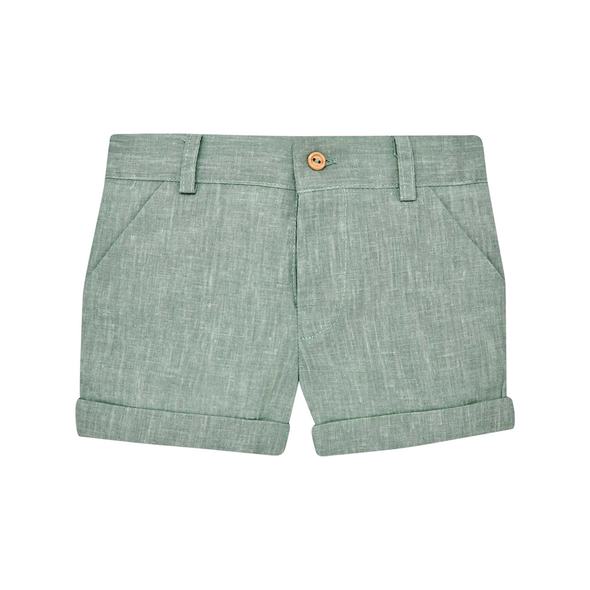 Woven Newborn Trousers and Shirt