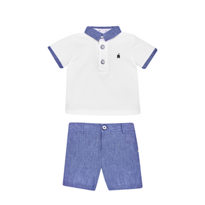 Knit Newborn  T-Shirt and Short