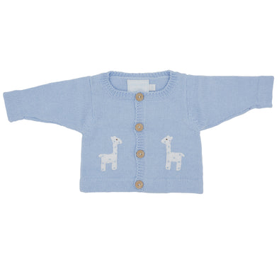 Boy Giraffe Crochet Sweater