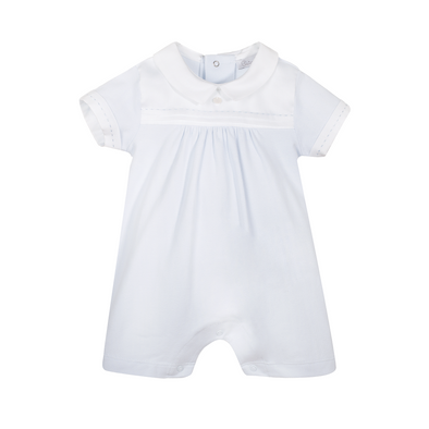 Baby Boy Romper - Knit