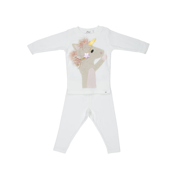 2 Piece Set Star Unicorn