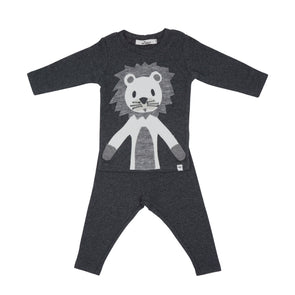 2 Piece Set Snow Lion
