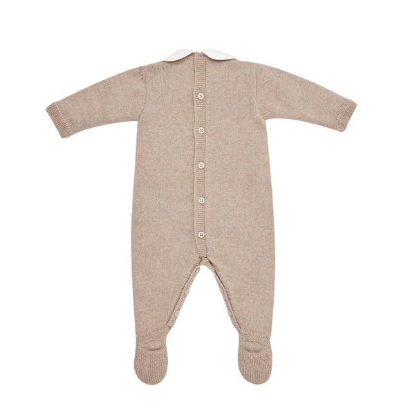 Baby Wool Knit Romper