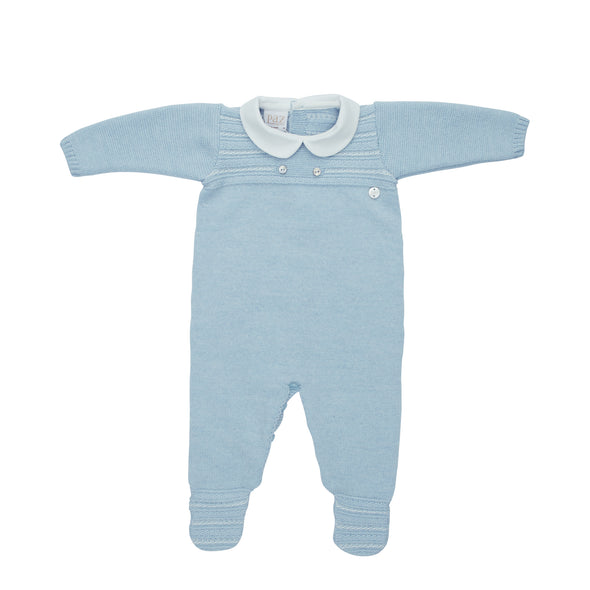 Baby Boys Wool Knit Romper