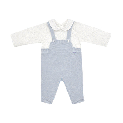Baby Boys Cotton Knit Romper