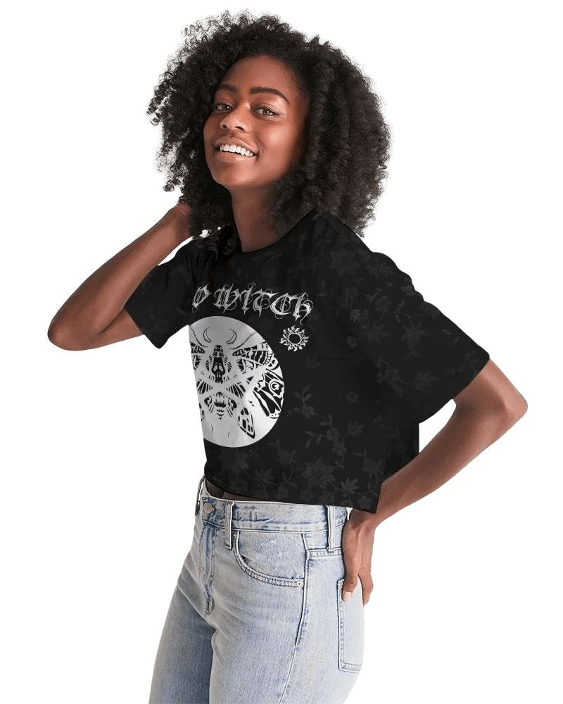 Bad Witch Cropped Tee