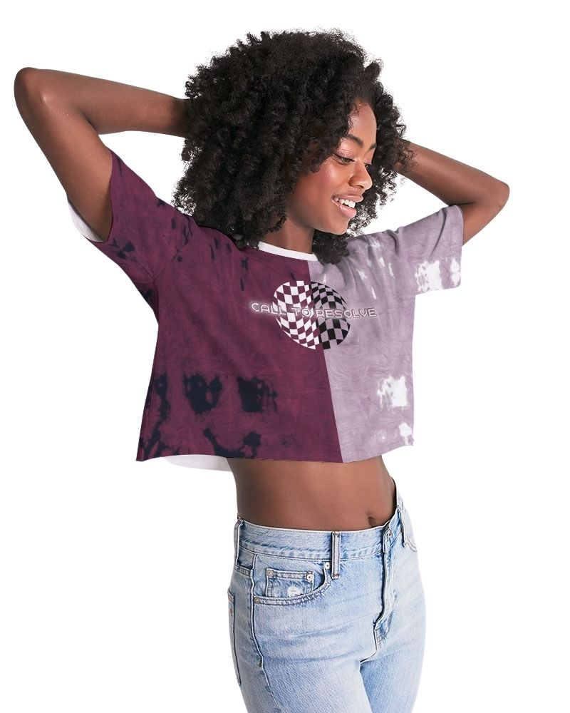 Call to Resolve Lounge Cropped Tee