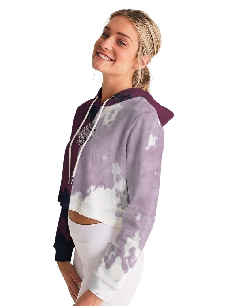 Call to Resolve Cropped Hoodie