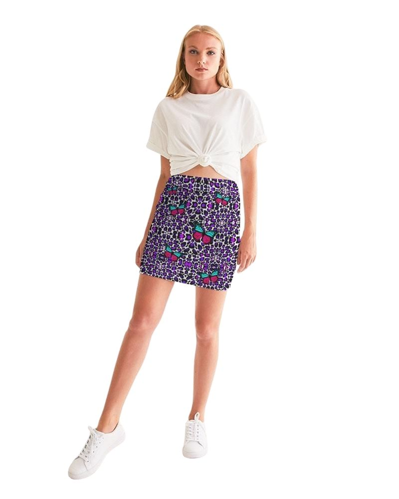 Pretty Wild Bodycon Mini Skirt