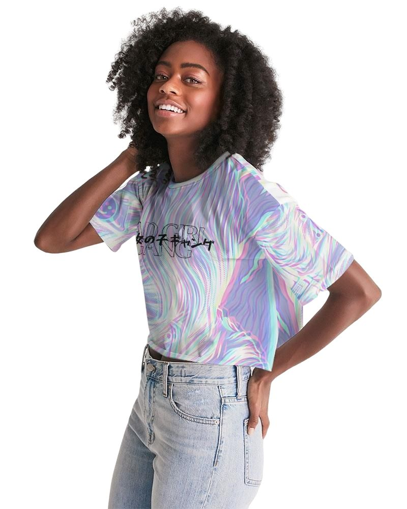 Bad Girl Gang Cropped Tee
