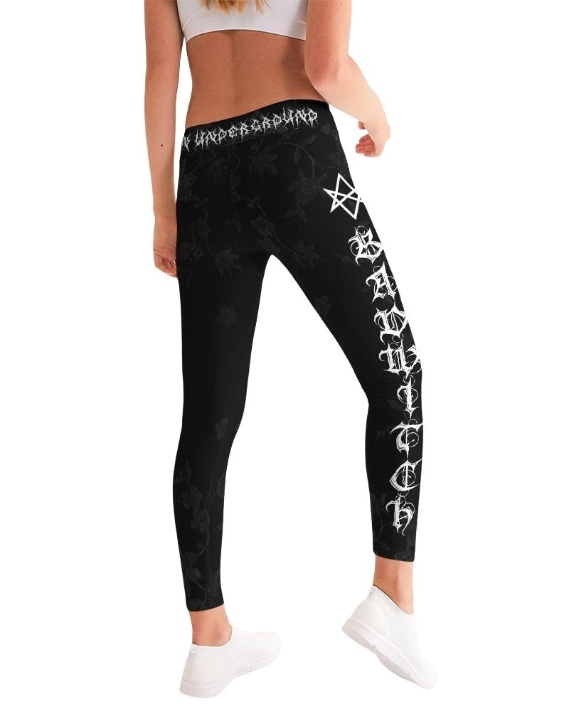 Bad Witch Black Yoga Pant Leggings