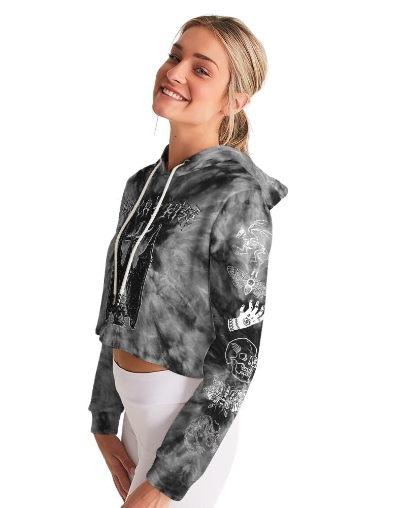 Witch's Kiss Cropped Hoodie
